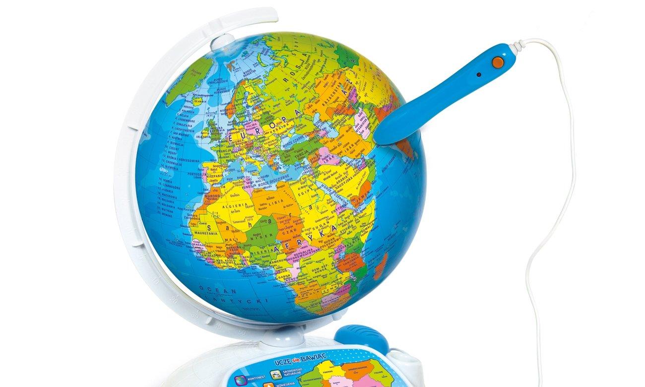 Clementoni nteraktywny EduGlobus Poznaj świat