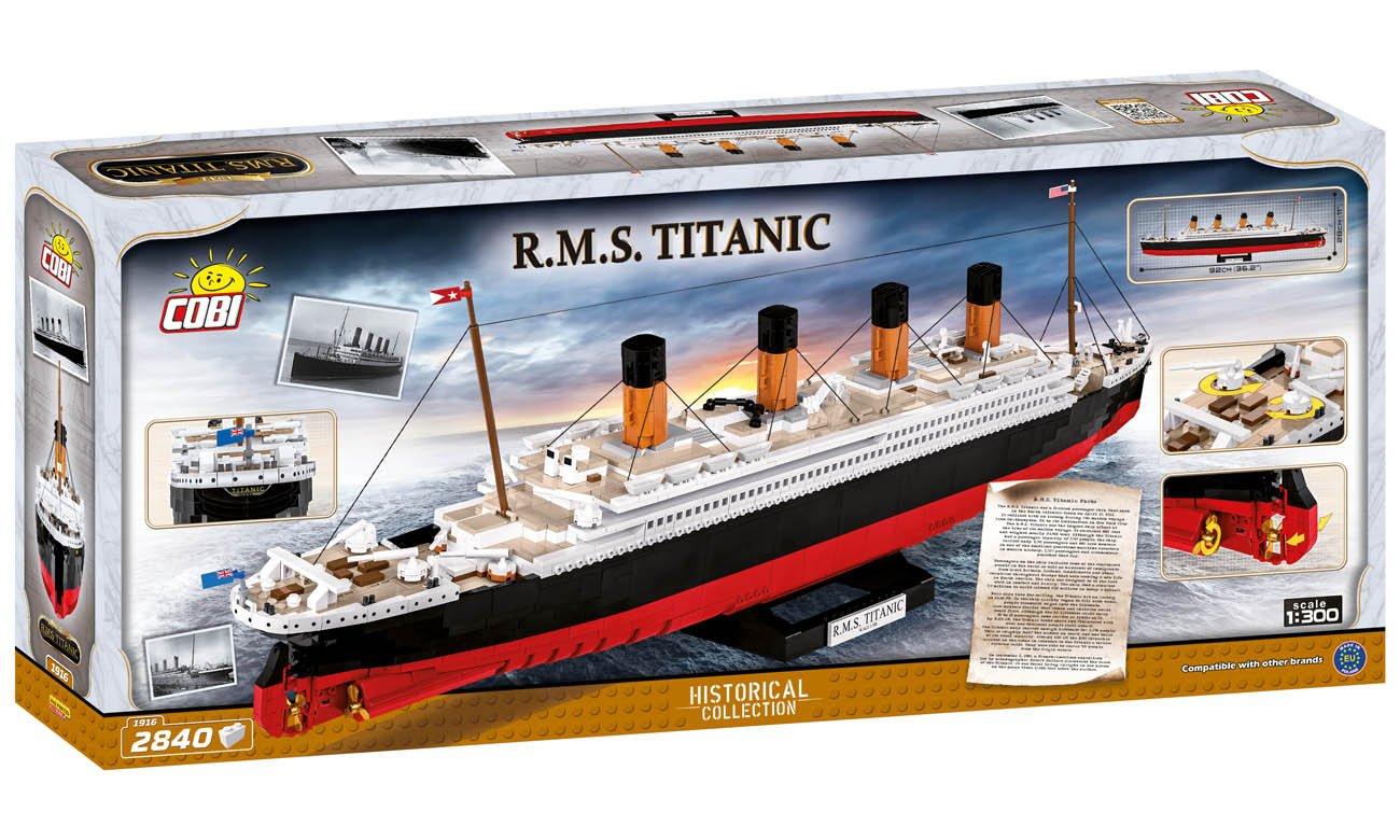 Klocki Cobi R.M.S. Titanic od 10 roku życia