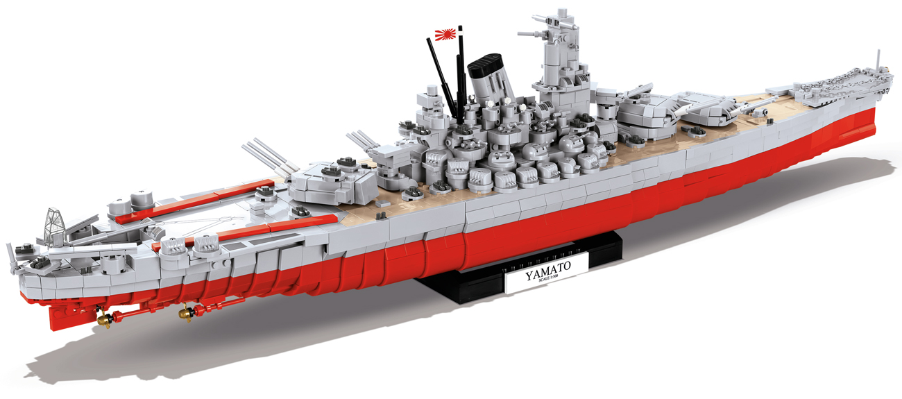 Cobi Small Army World of Warships Battleship Yamato - Klocki - Sklep internetowy - al.to