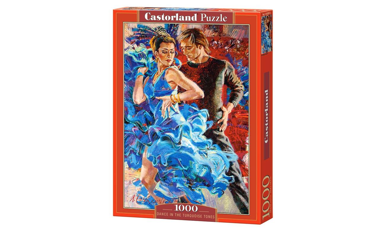 Puzzle Castorland Dance in the Turquoise Tones C-103287-2