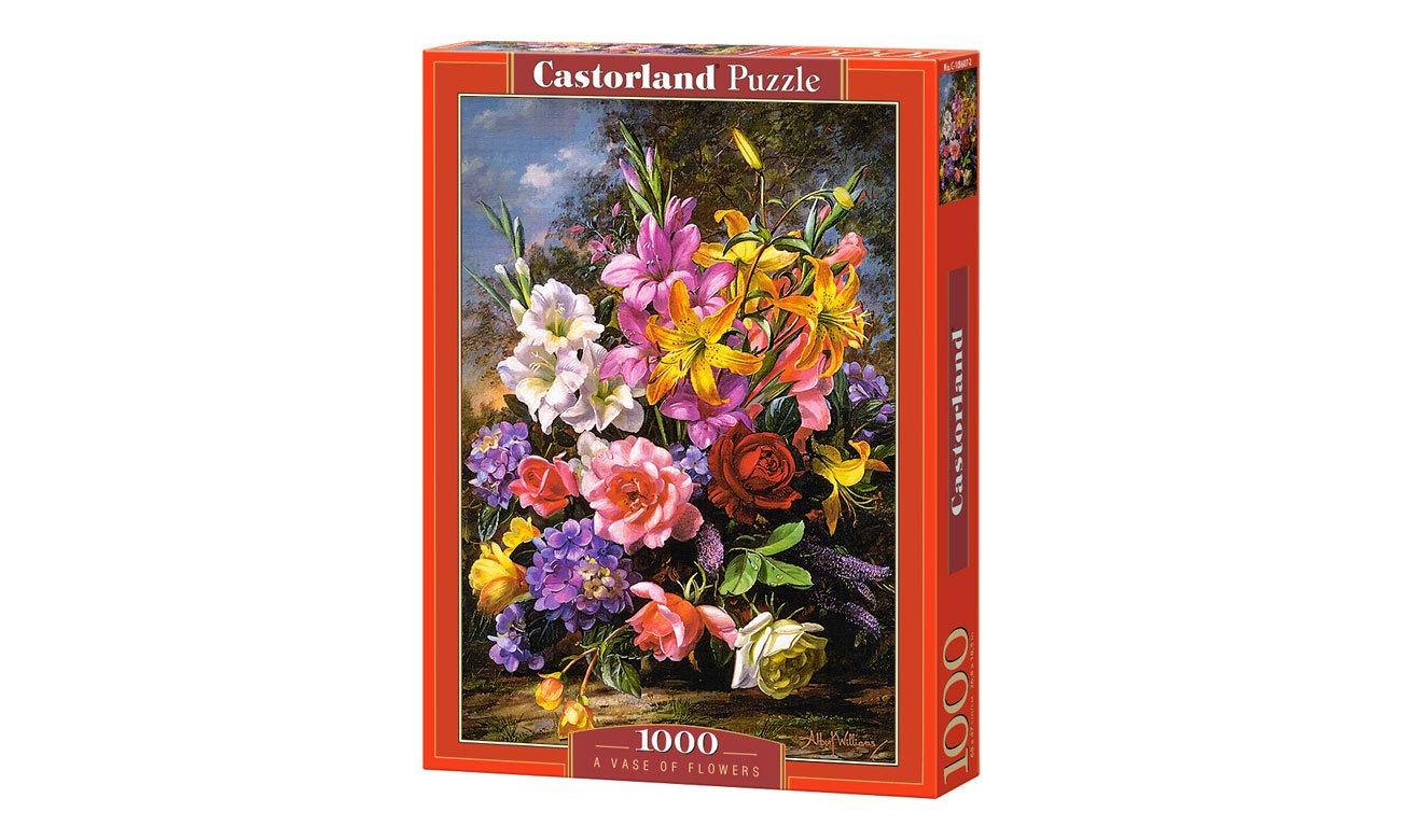 Puzzle Castorland A Vase of Flowers C-103607-2