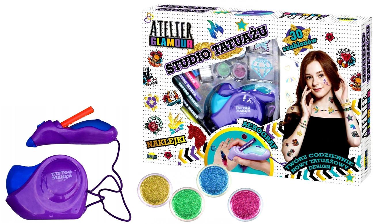 Dromader Atelier Glamour Studio Tatuażu Z Areografem Zabawki Plastyczne I Kreatywne Sklep Internetowy Alto