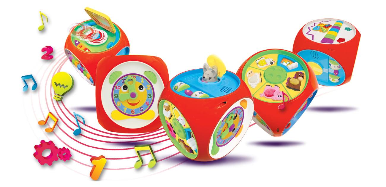dumel discovery zabawka edukacyjna pudełko uczydełko