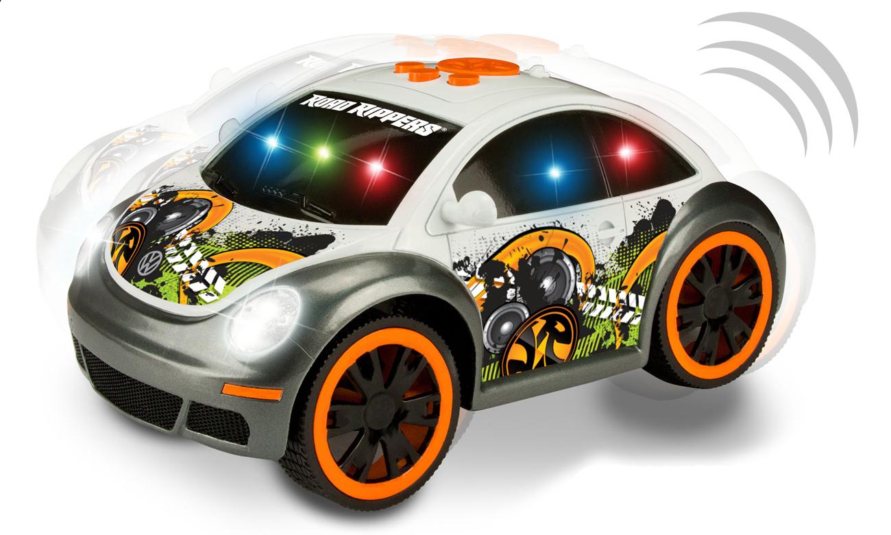 tańczący samochód vw beetle