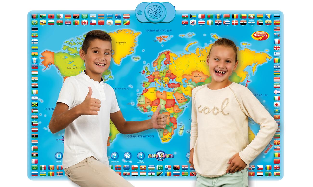zabawa z dumel interaktywna mapa świata