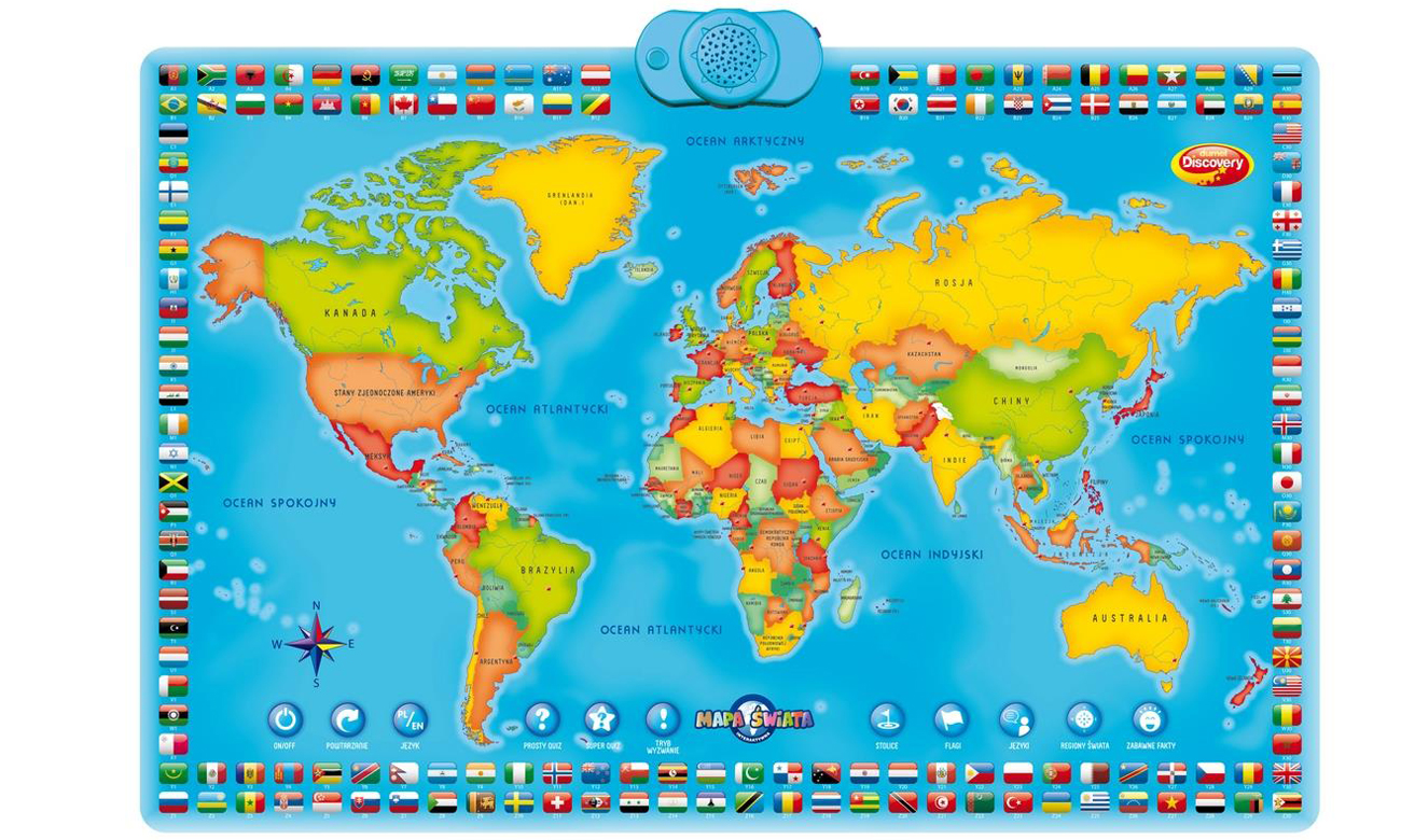 mapa do nauki geografii dumel discovery