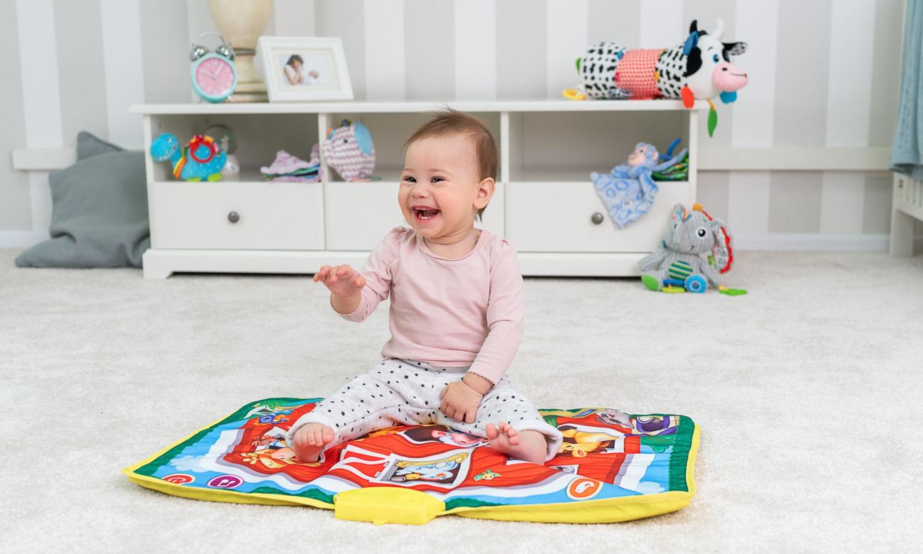 zabawka dumel dla dziecka 12 miesięcy