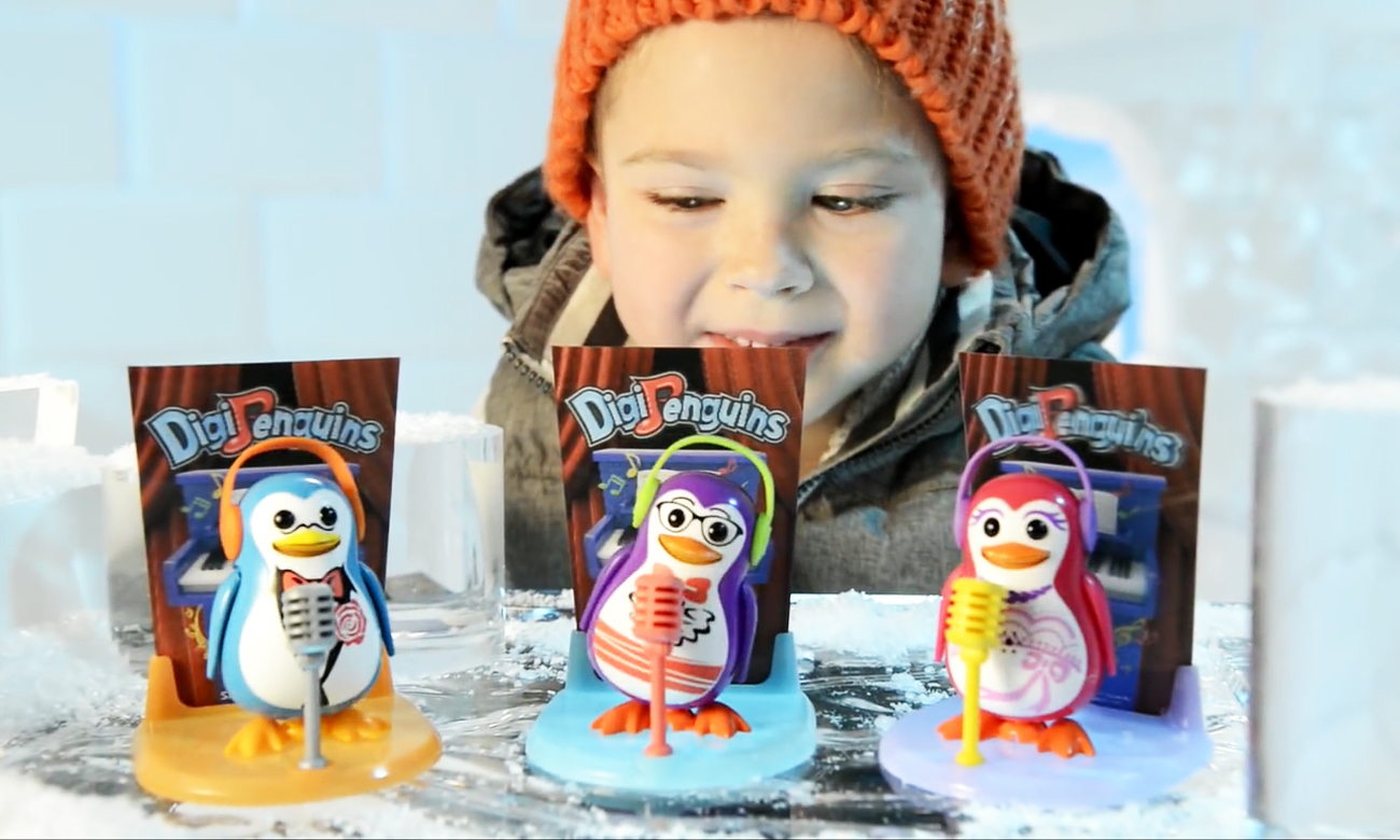 interaktywny pingwinek dumel