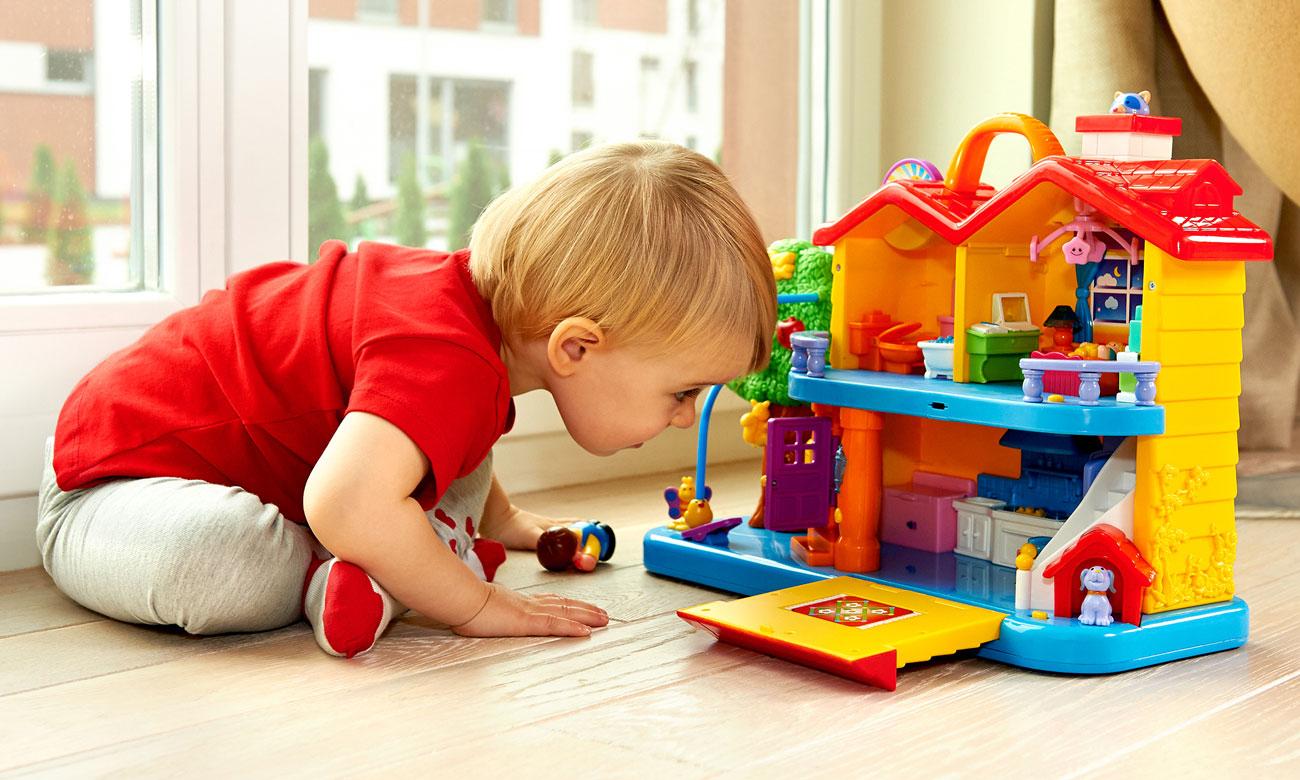 zabawa z dumel discovery odkrywczy domek dla dzieci