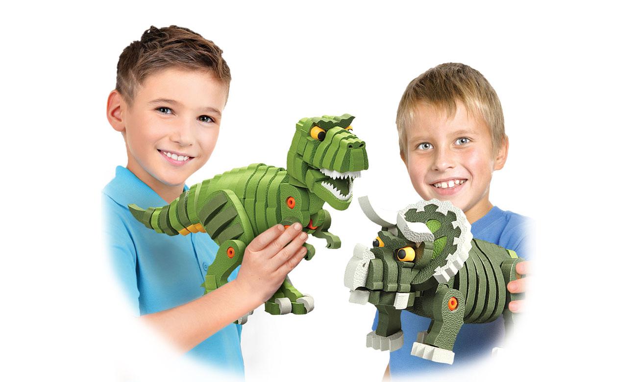 Dumel piankowe dinozaury do składania