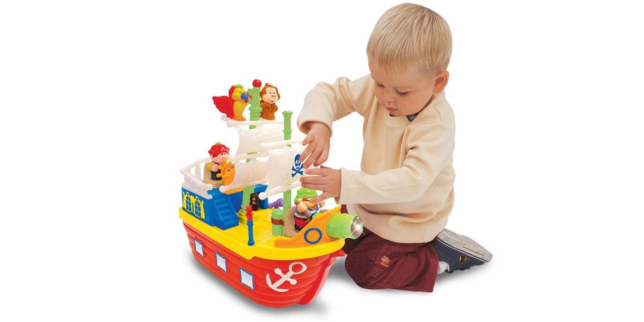 radość zabawy z dumel statek piracki dla dzieci