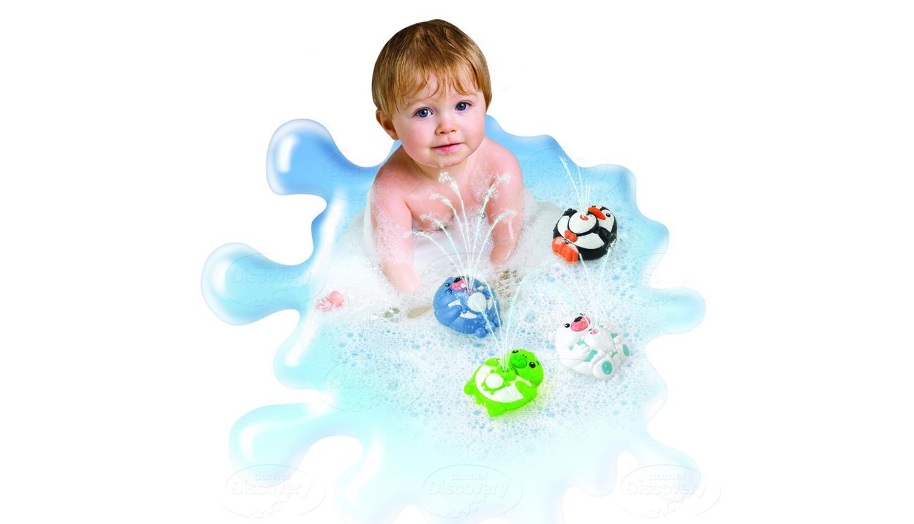 kąpiel z Dumel Discovery Tryskające Zwierzątka foczka