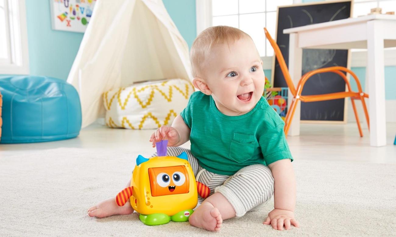 Zabawka dla dziecka Fisher Price Stworek Humorek DRG13