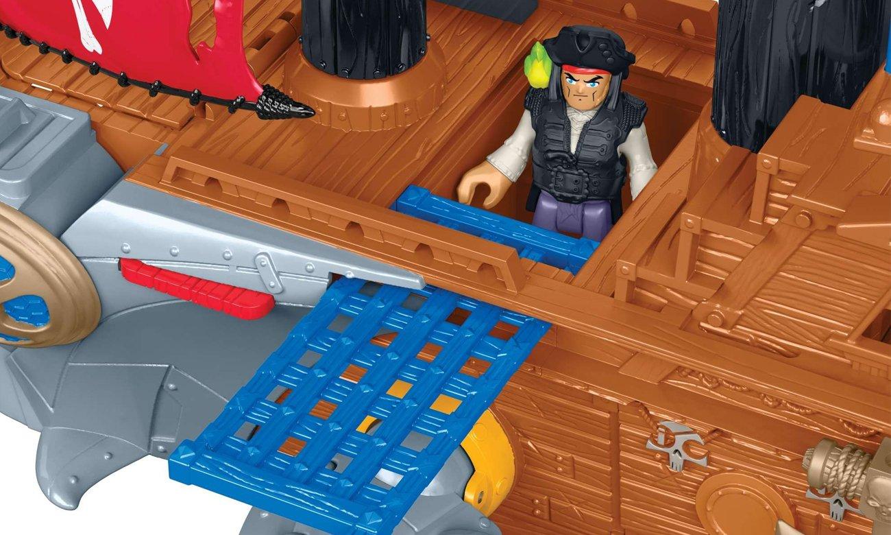 statek piracki dla dzieci