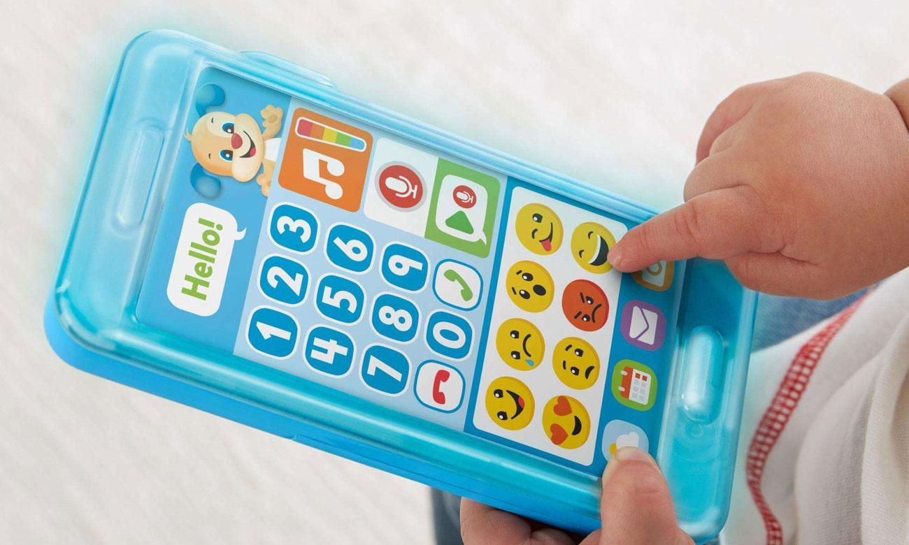 fisher price smartfonik szczeniaczka