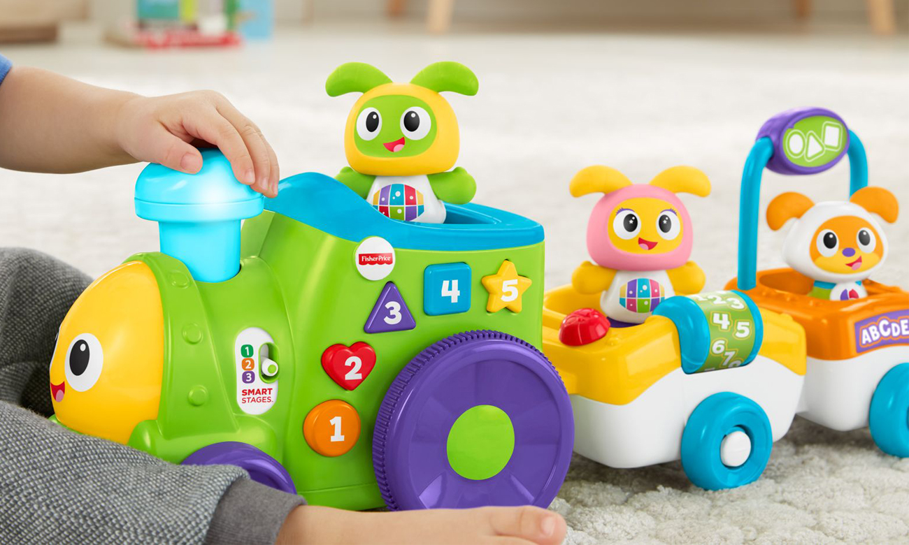 interaktywny pociąg fisher price