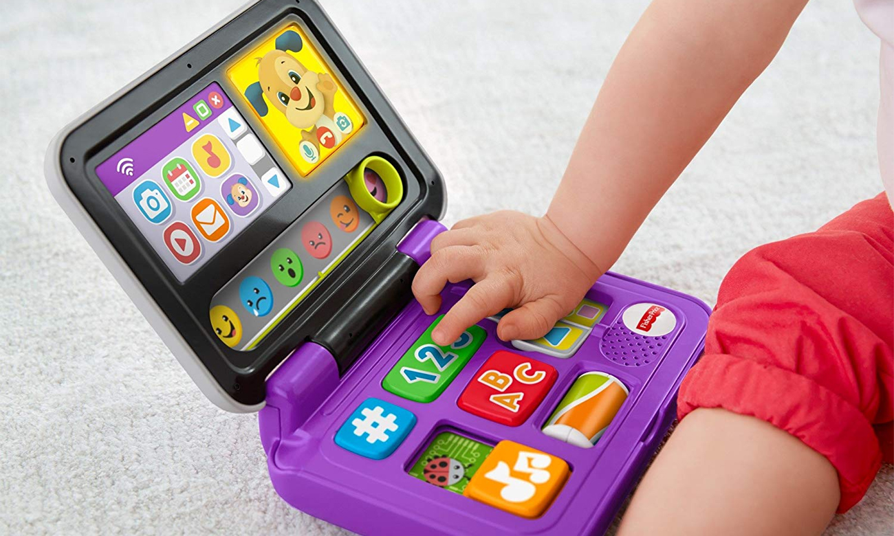 fisher price laptop dla dziecka