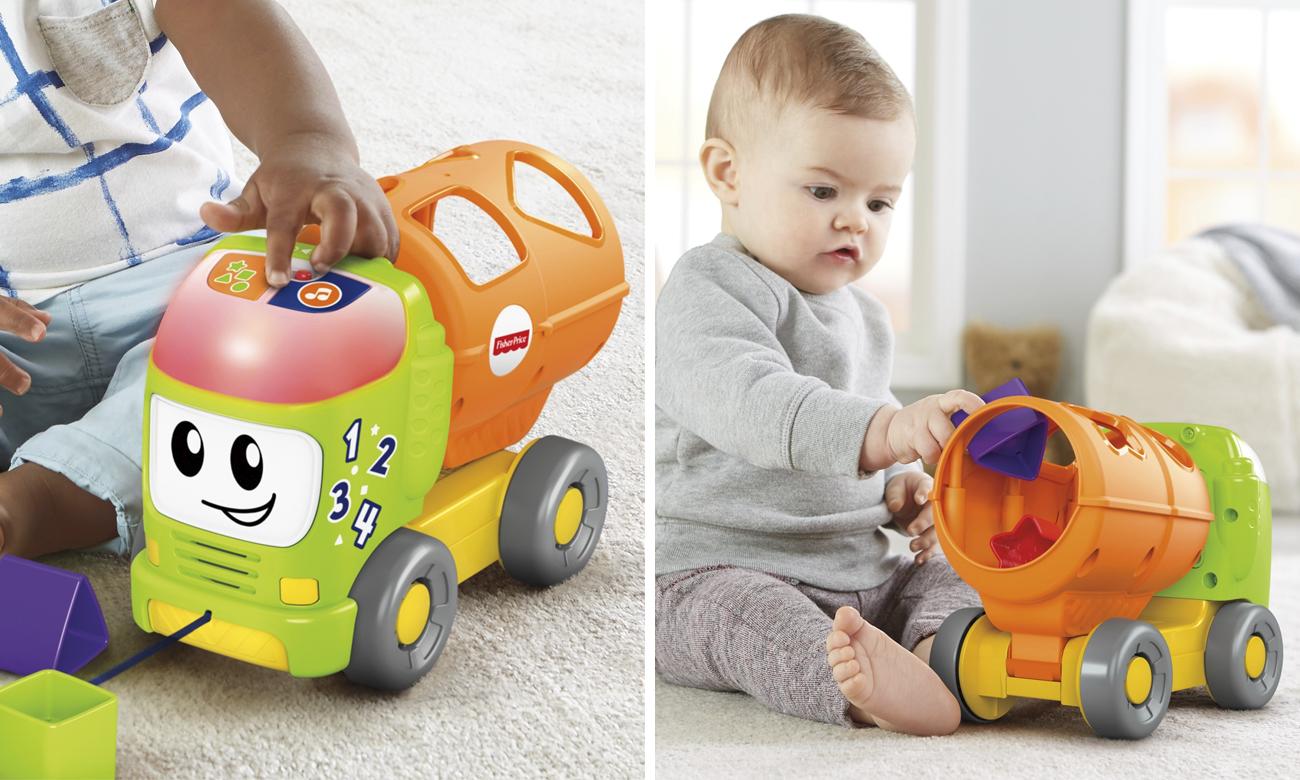 ciężarówka edukacyjna dla dziecka