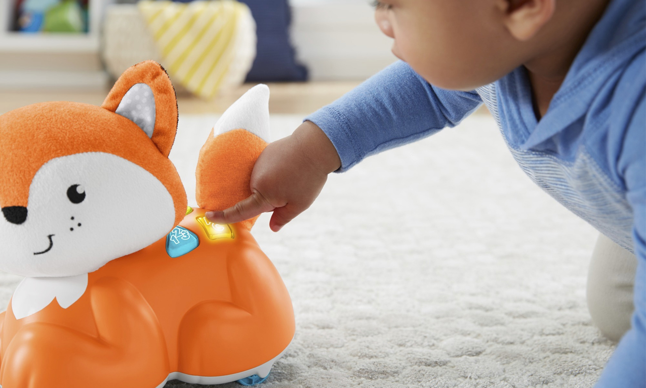 zabawka edukacyjna fisher price lisek