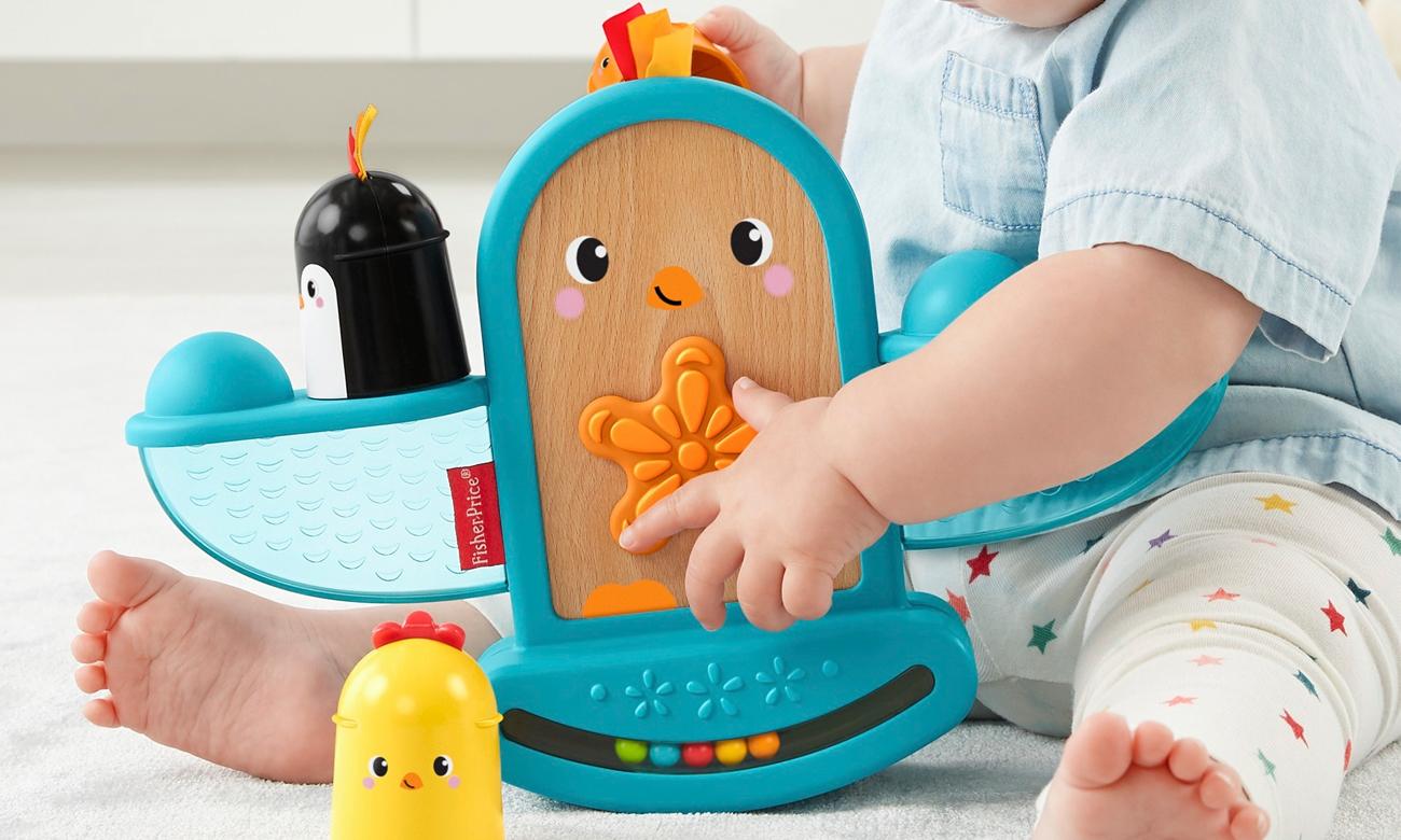 zabawka zręcznościowa bujaczek