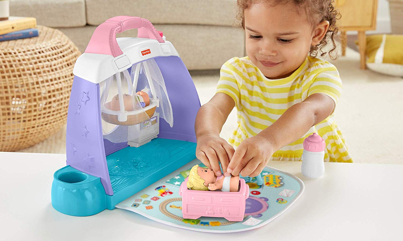 Fisher Price Little People Pokoik dziecięcy