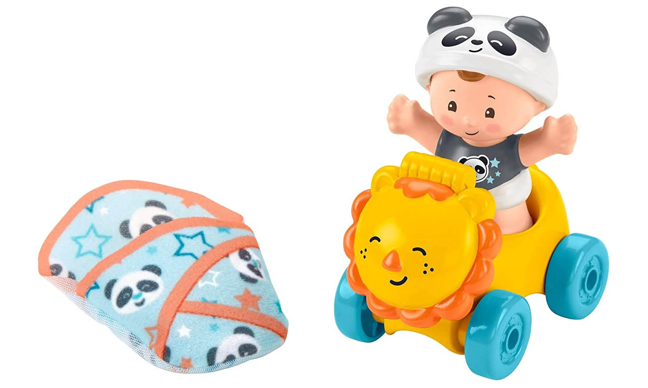 Fisher Price Little People Bobas + Lew