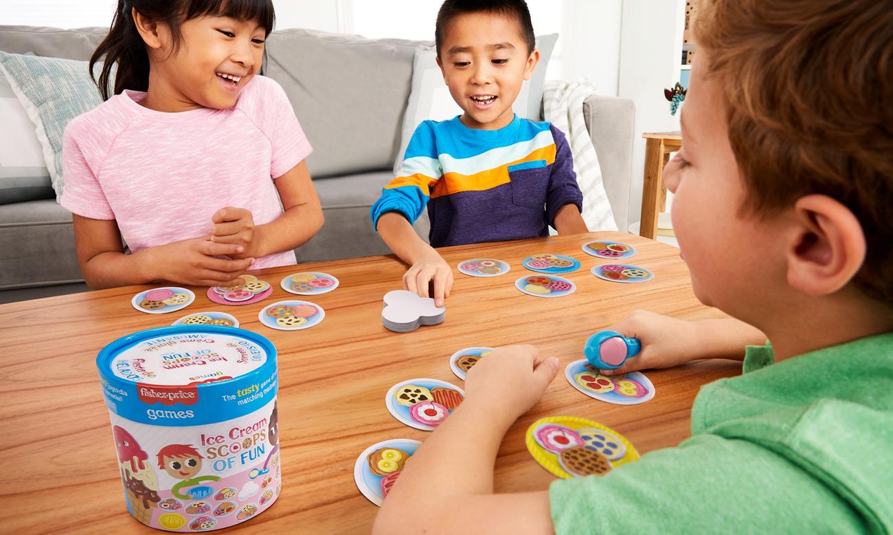 Fisher-Price Dopasuj lody Gra dla dzieci GWN54