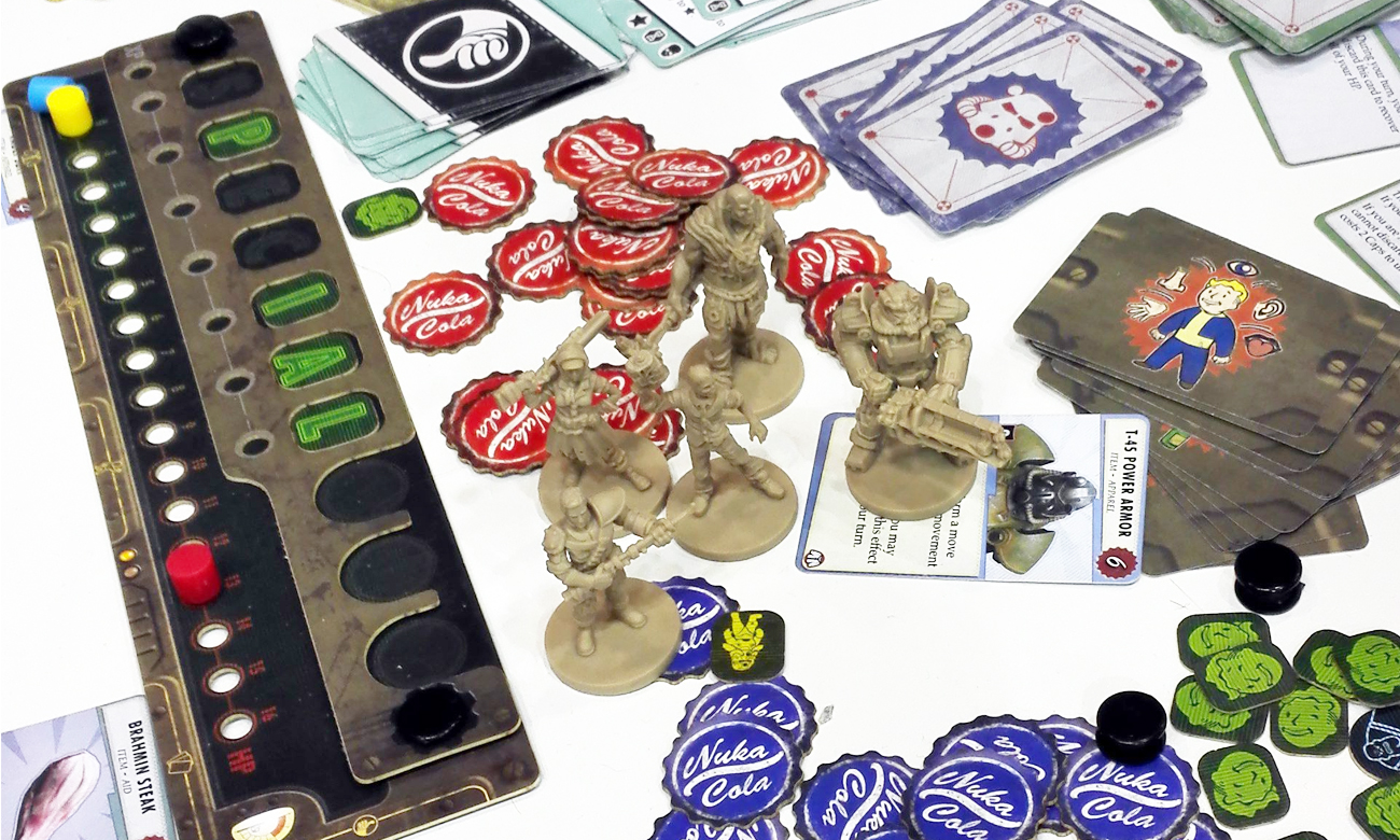 fallout board game pl