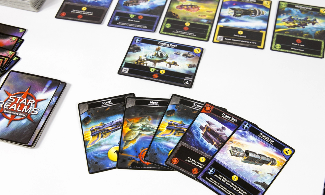 Games Factory Star Realms: Pakiet Gambit i Crisis
