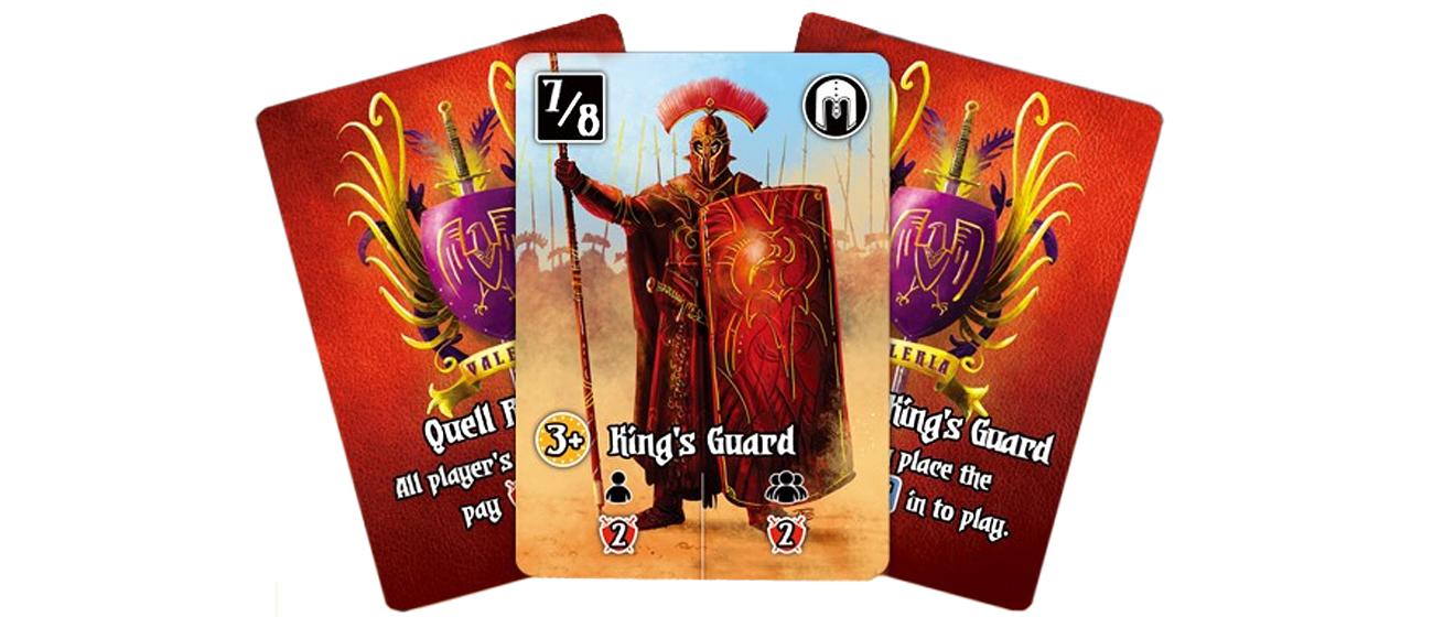 Games Factory Valeria Karciane Królestwa: Królewska Straż