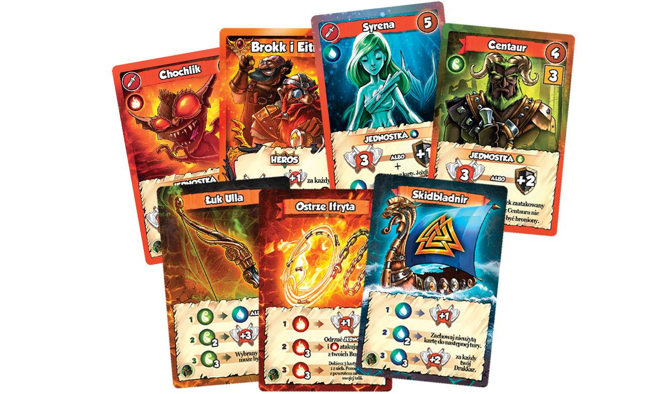 Games Factory Vikings Gone Wild Masters of Elements Zestaw dodatkowy