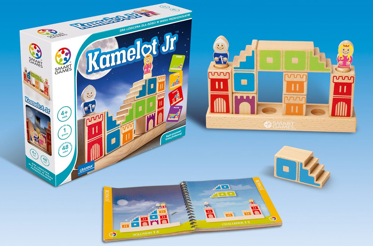 Gra dla małych dzieci Granna SMART Kamelot GR-6385