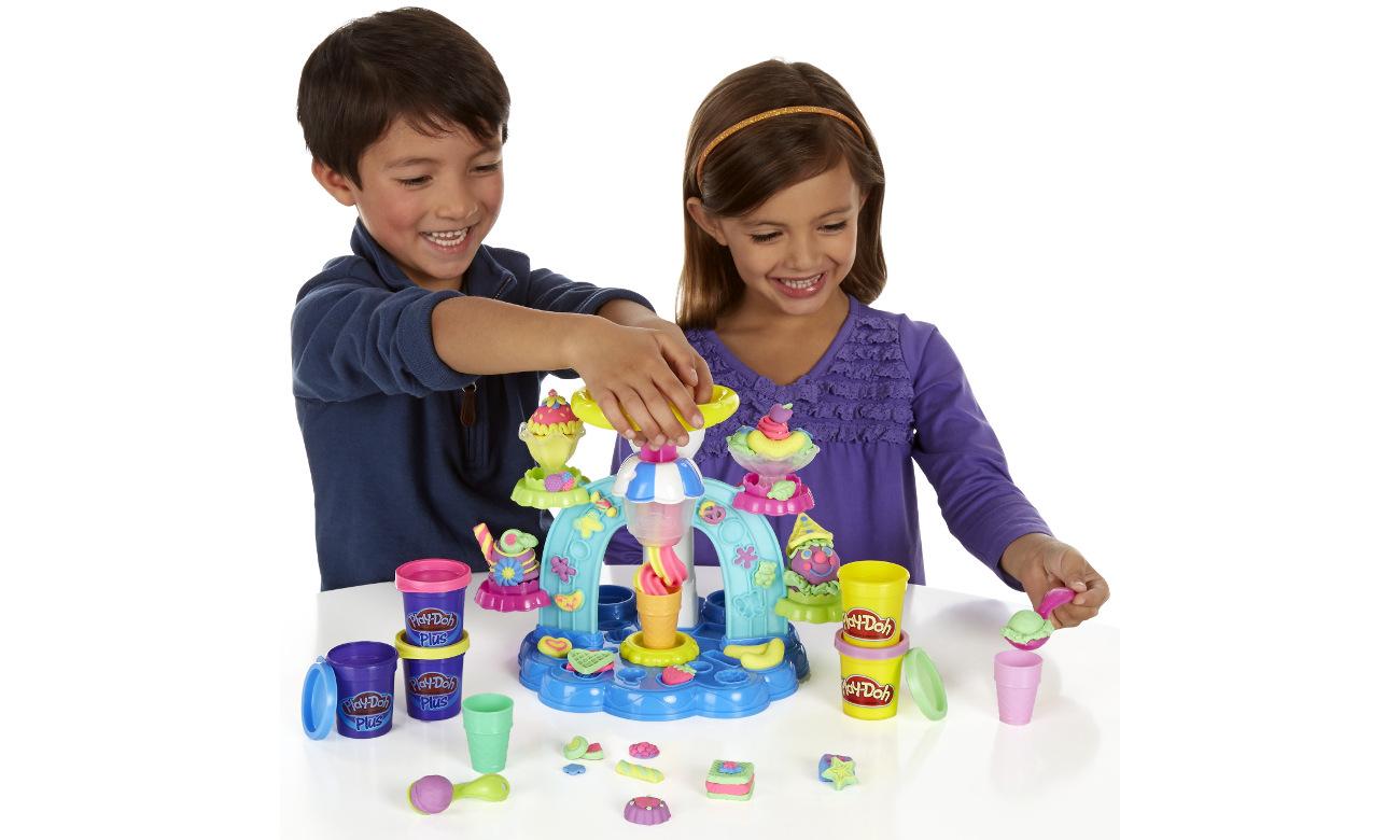 Play-Doh Zakręcona Lodziarnia