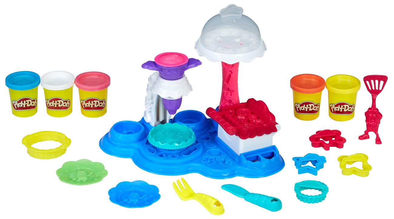 Play-Doh Ciasteczkowe przyjęcie zawartość zestawu