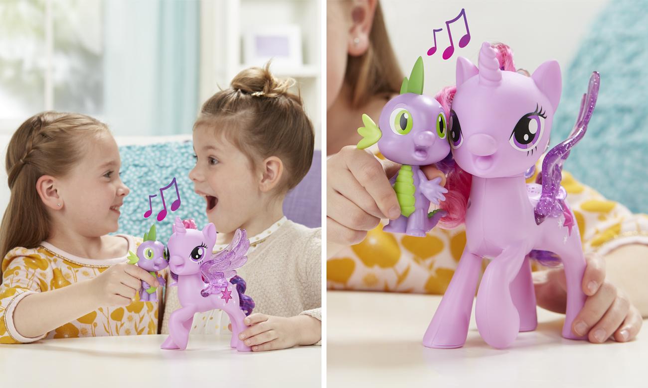 My Little Pony Śpiewająca Twilight Sparkle i Spike