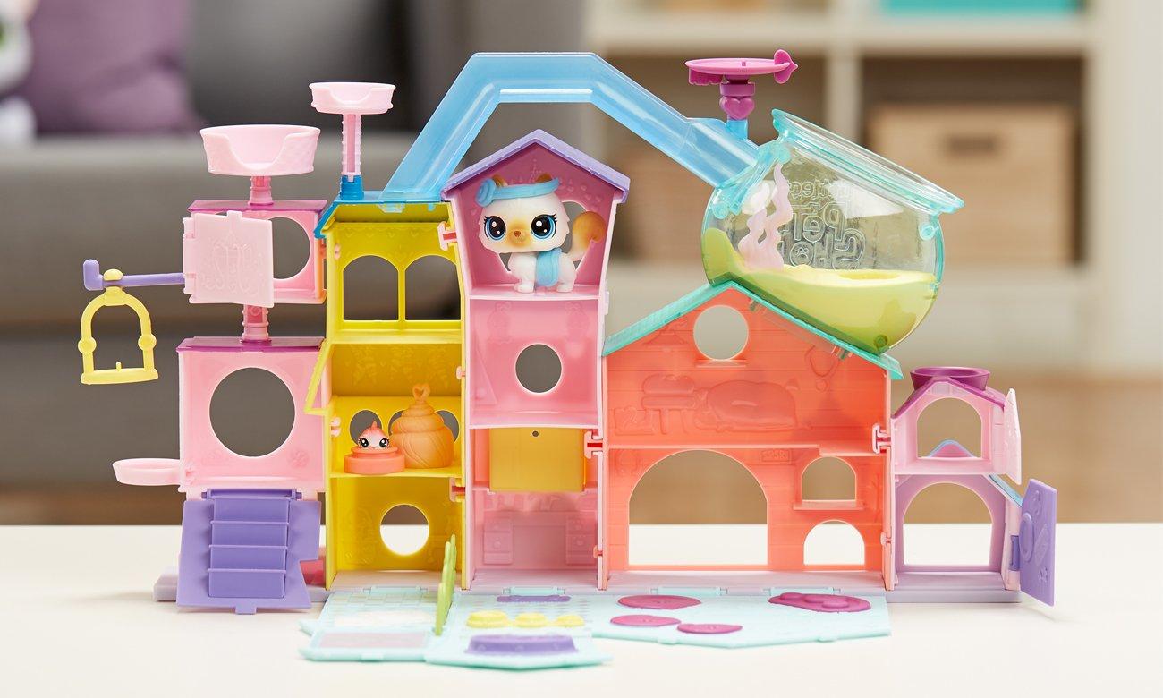 Hasbro Littlest Pet Shop Apartament Zwierzaków