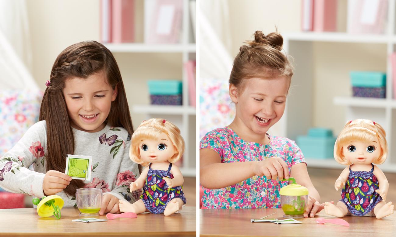 Hasbro Baby Alive Słodka Przekąska blondynka