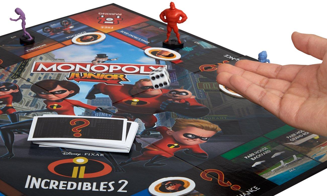 Hasbro Monopoly Junior Iniemamocni 2