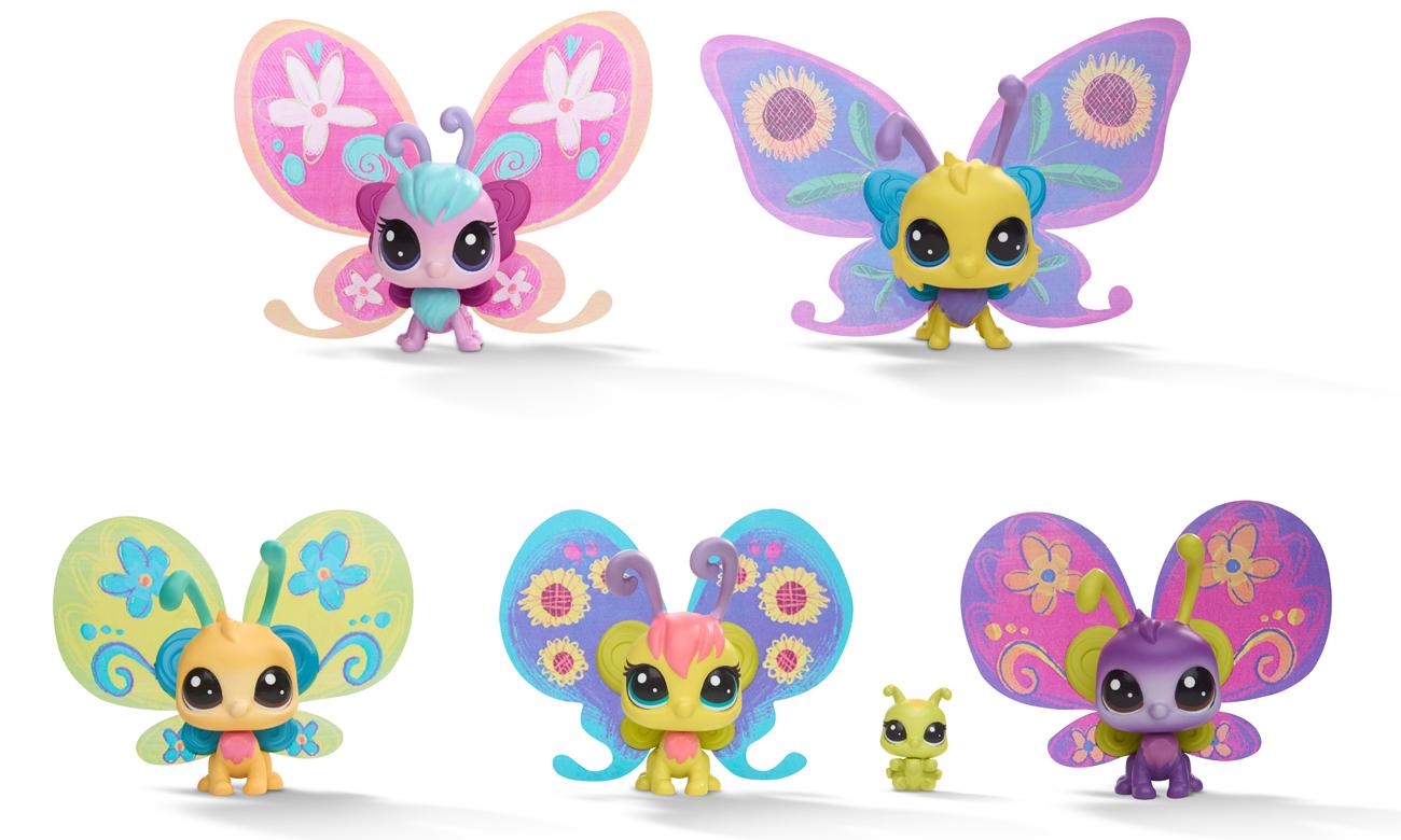 Hasbro Littlest Pet Shop Zestaw Fantazyjnych Zwierzaków
