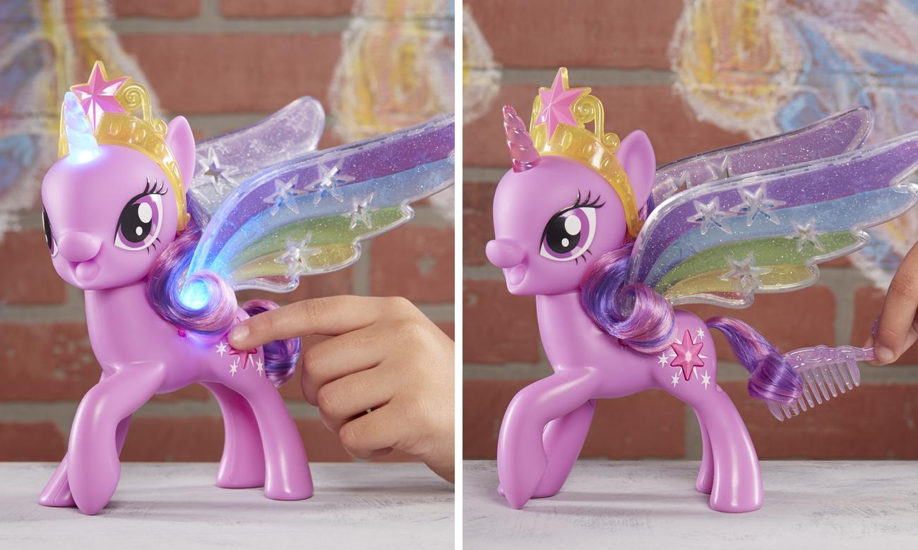 figurka twilight sparkle ze świecącymi skrzydłami