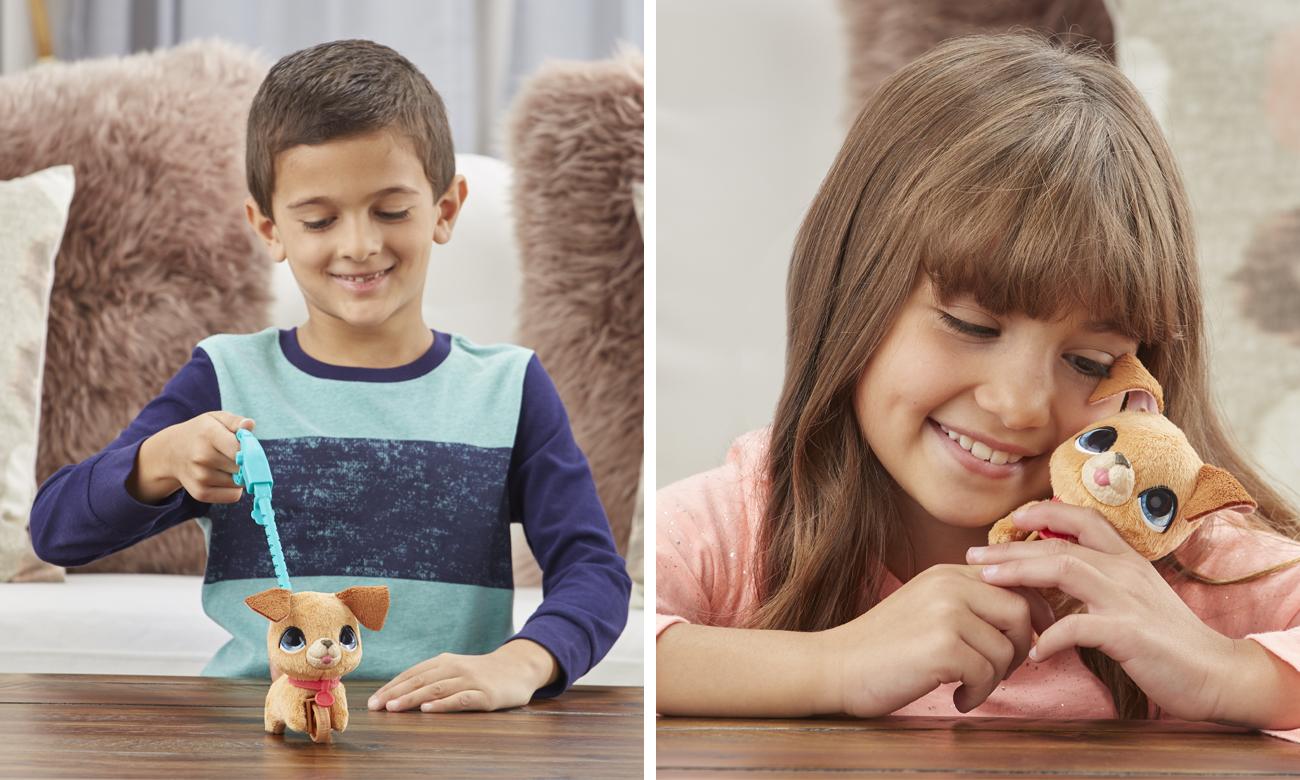 Hasbro FurReal Małe Zwierzaki na smyczy Pies