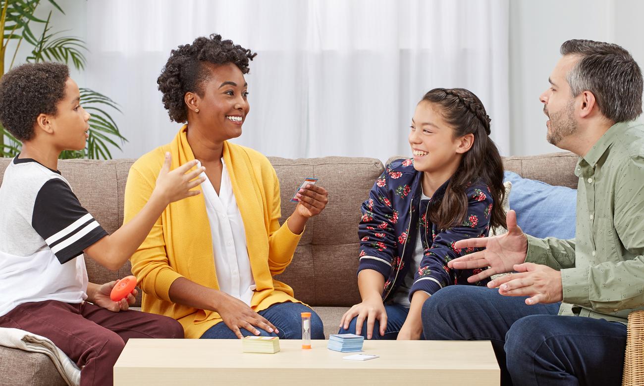 Hasbro Taboo Dzieci kontra Rodzice