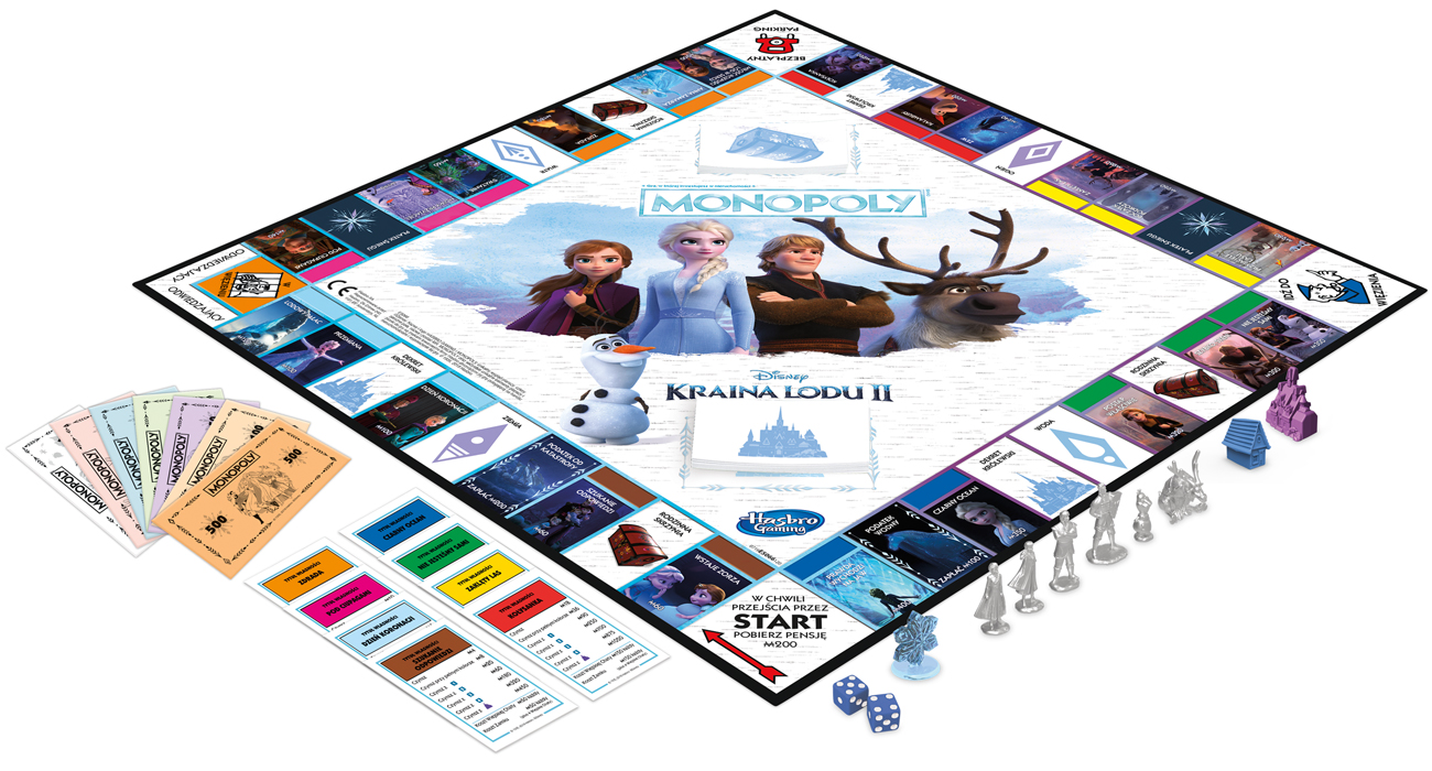 Hasbro Monopoly Frozen 2