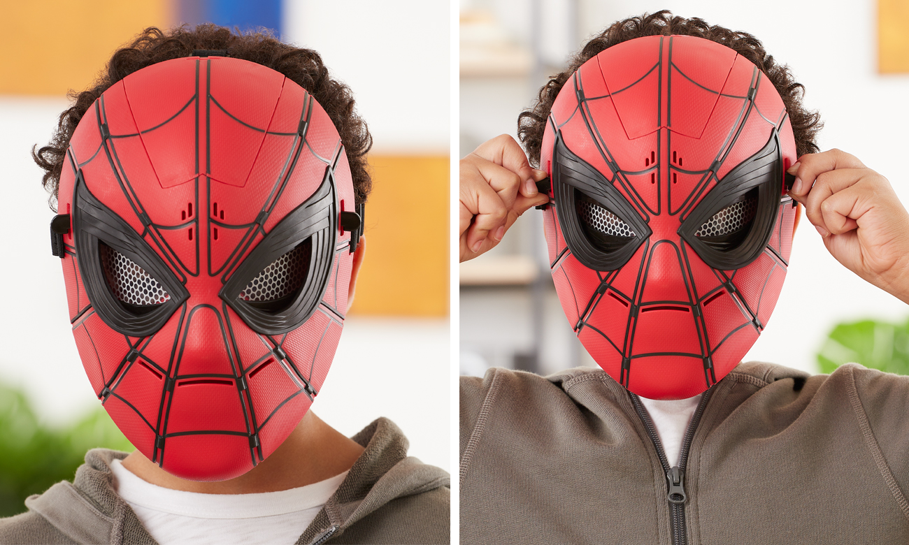 maska spidermana do zabawy