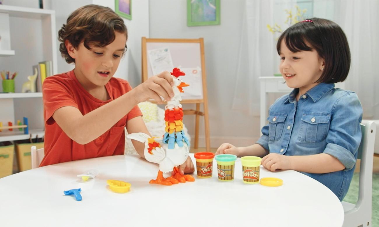 Hasbro Play Doh Farma Kurczak