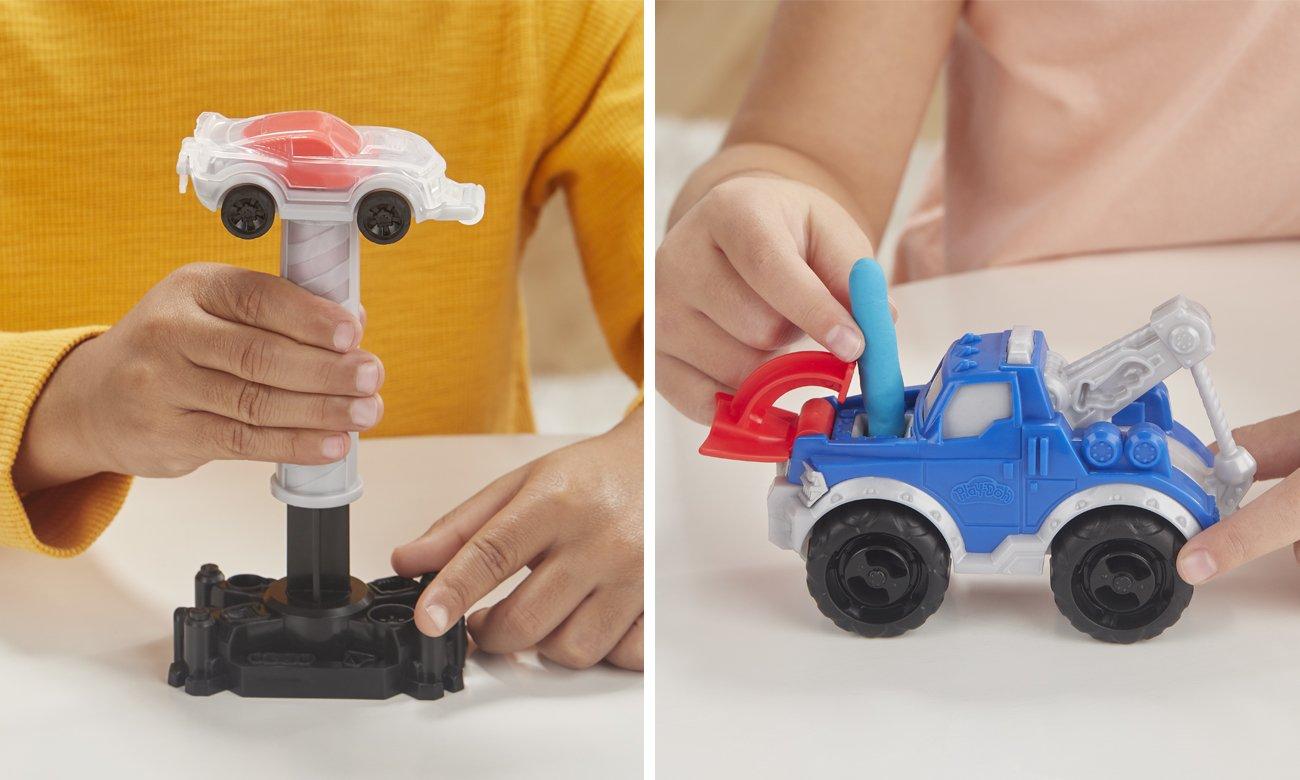 play doh ciastolina zestaw z autami
