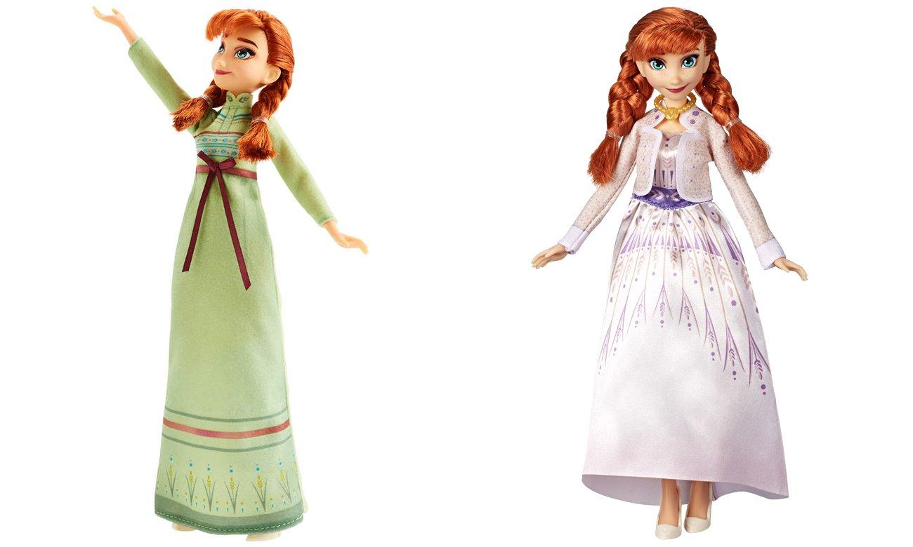 Hasbro Disney Frozen 2 Stylowa lalka Anna + ubranka
