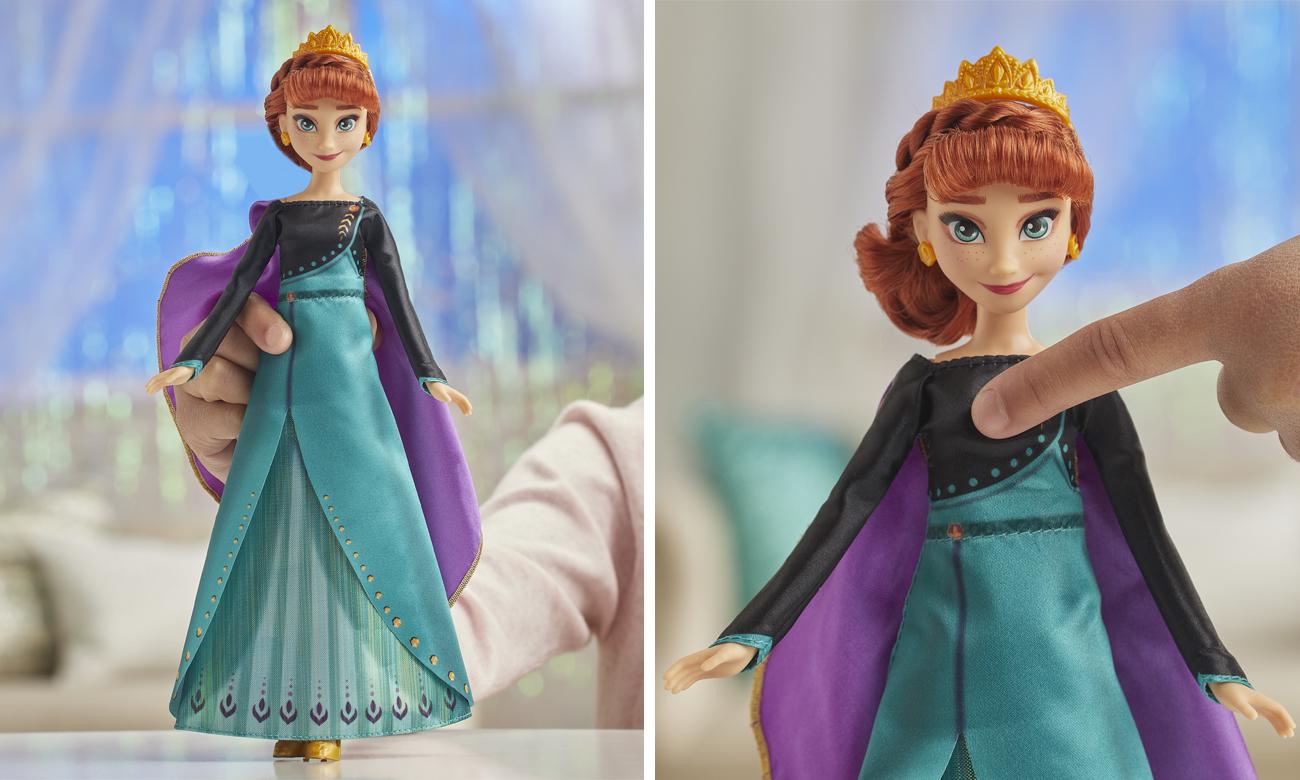 Hasbro Frozen Śpiewająca Anna Musical Adventure