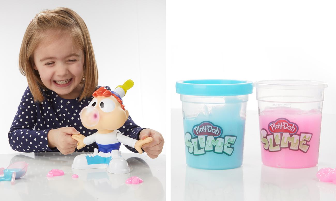 Hasbro Play Doh Slime Karol żuje gumę