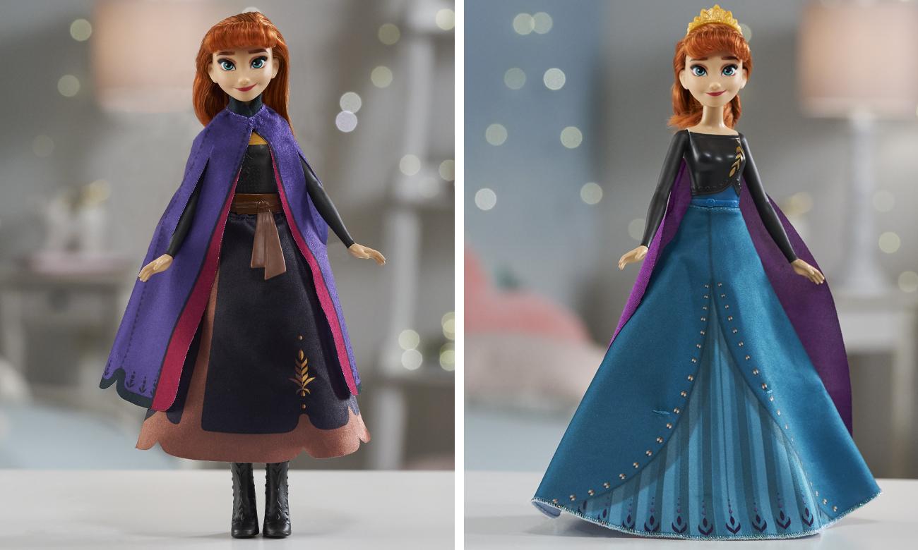 Hasbro Disney Frozen 2 Anna magiczna przemiana